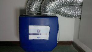 Mechanische ventilatie in een woonhuis/bedrijf