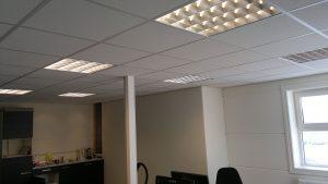 Verlichting op kantoor