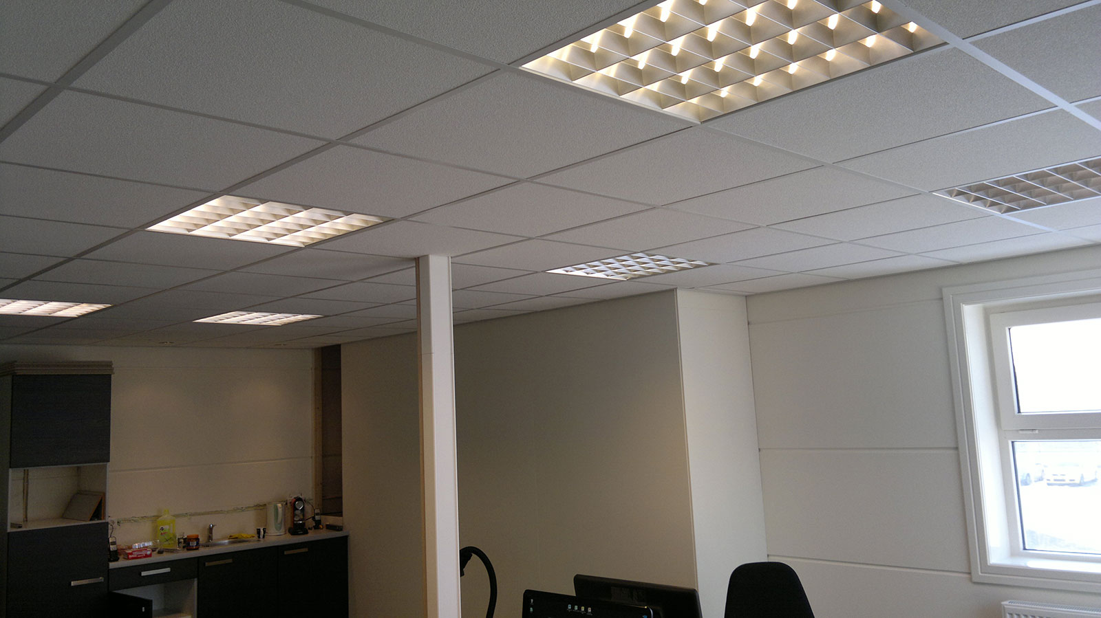 Verlichting op kantoor – M. Wouters Elektrotechniek